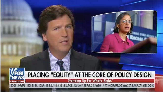 "Fox News placing ""equity"""