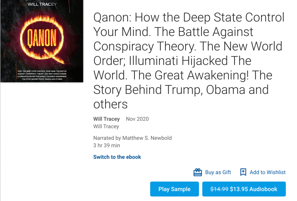 Qanon: How the Deep State Control Your Mind book