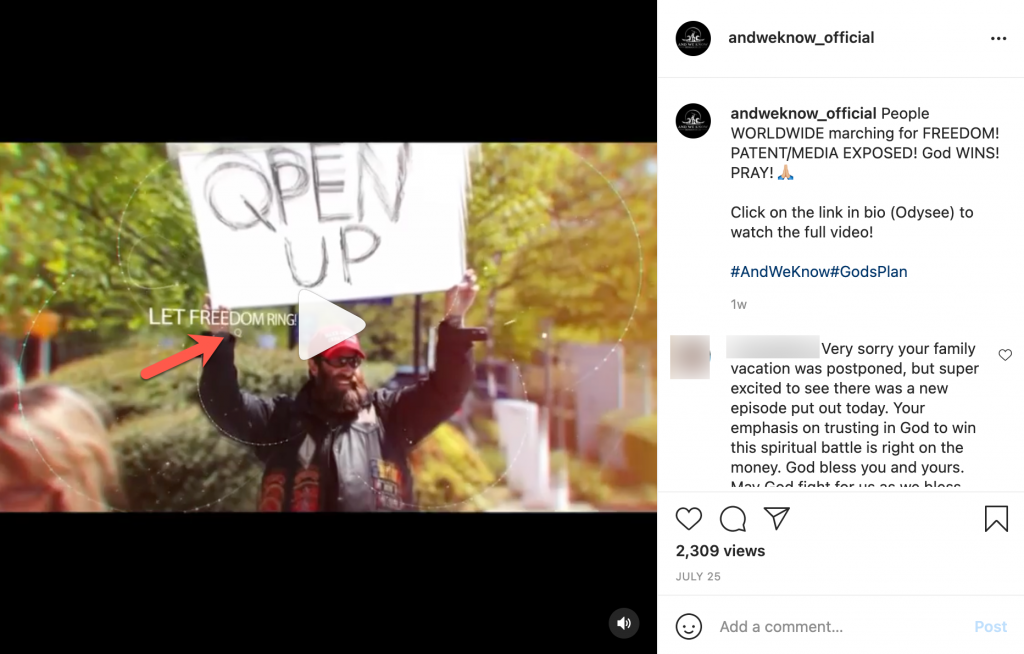And We Know Instagram post Q image