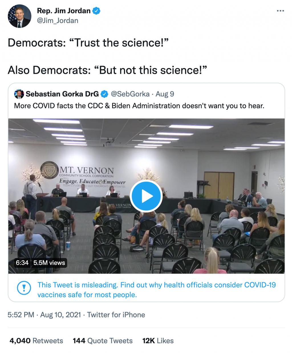 Jordan Gorka Twitter Stock video