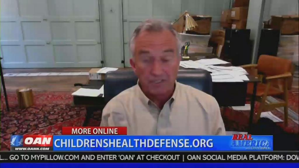 OAN airs link to RFK jr's conspiracy filled, anti-vaxx website