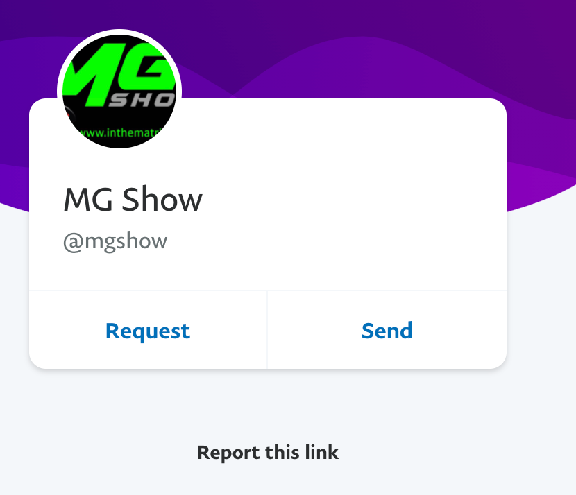 MG Show PayPal