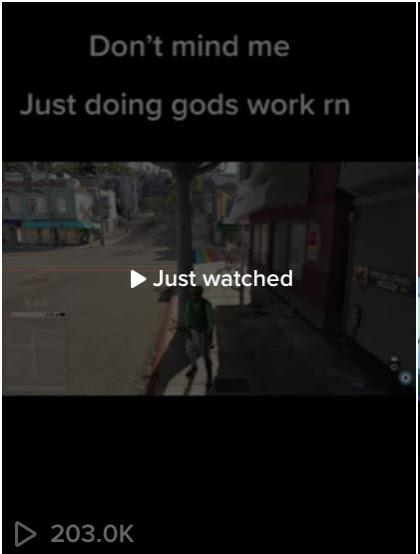 image of tiktok with 200K views