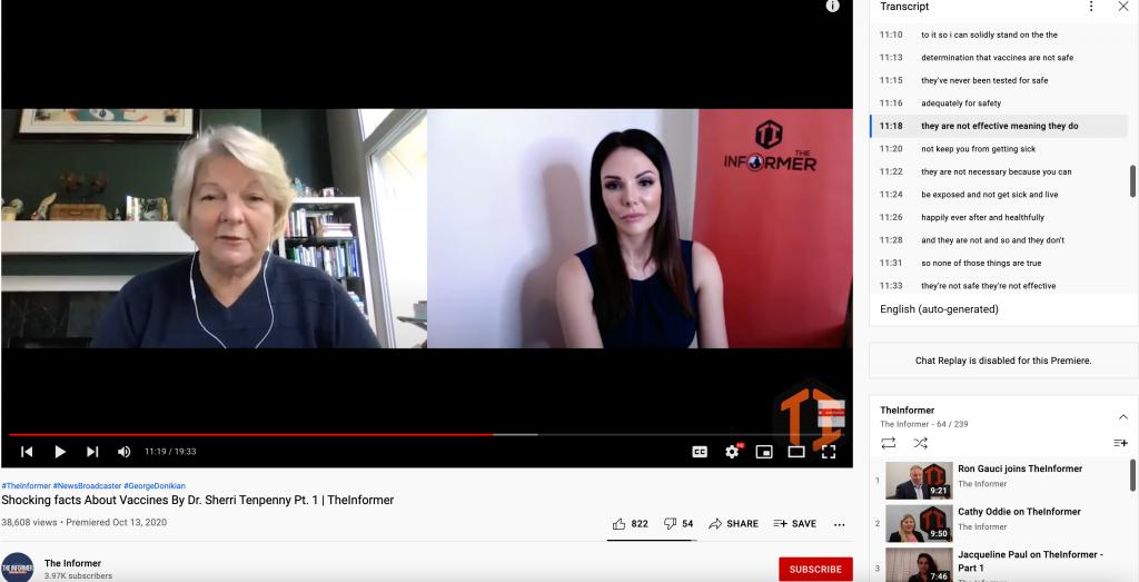 Tenpenny YouTube