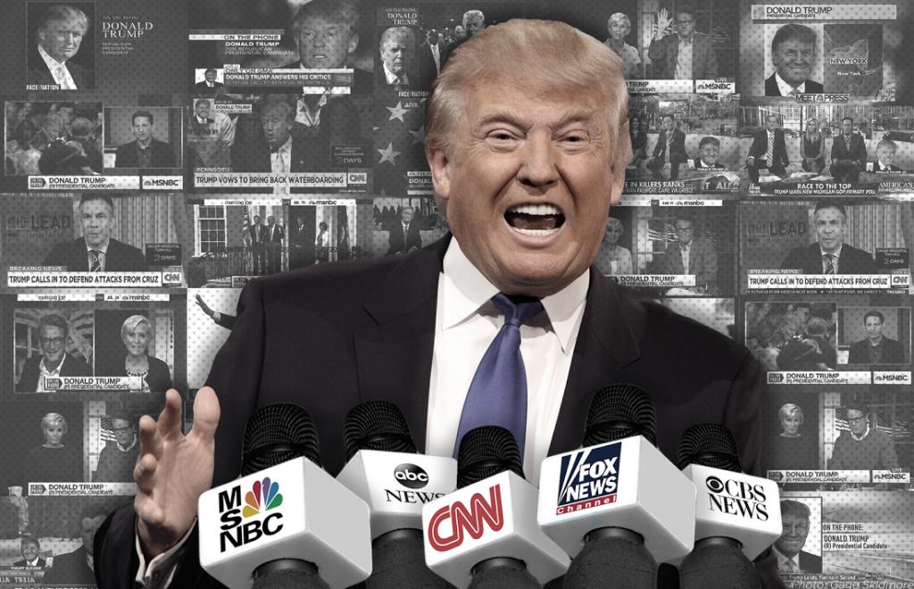 Donald Trump news networks